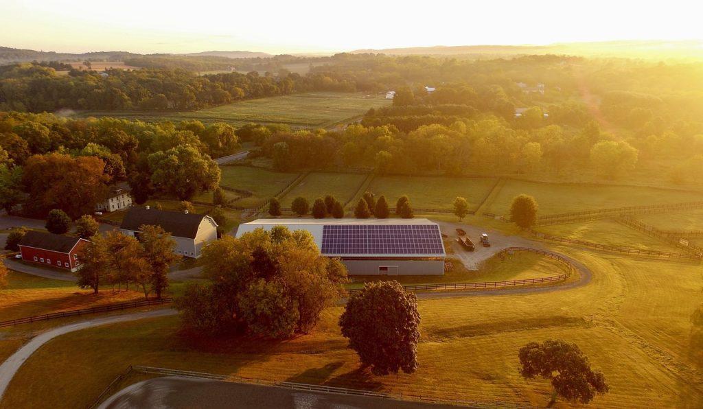 Solar Farm Solar Energy